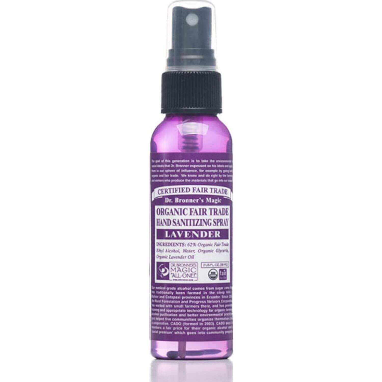 Dr Bronner S Organic Hand Sanitizer Lavender Bella